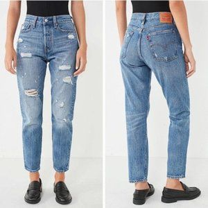 Levi's | Wedgie Icon Partner in Crime Distressed
